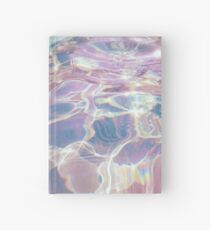 Holographic Waters Hardcover Journal