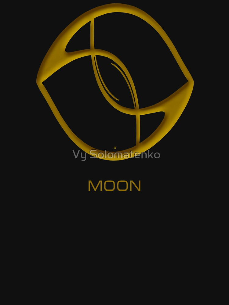 Astrology Symbol For Moon by vysolo