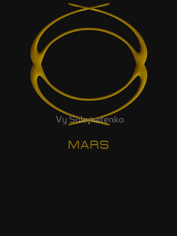 Astrology Symbol For Mars by vysolo