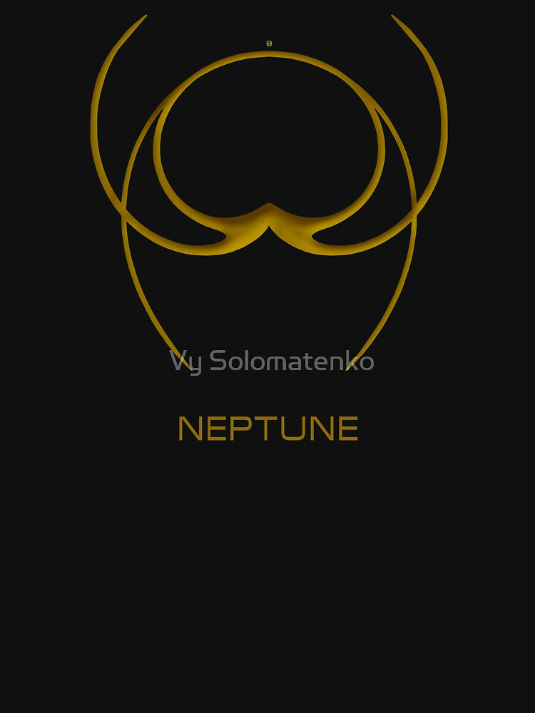 Astrology Symbol For Neptune by vysolo