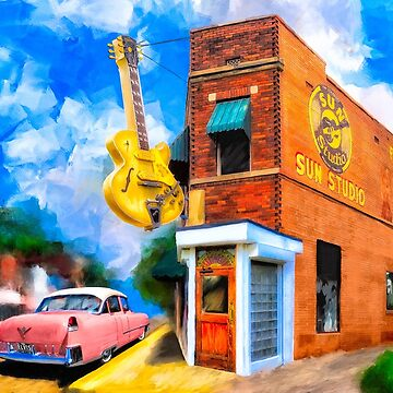 Musical Memories - Sun Studio in Memphis Tennessee by marksda1