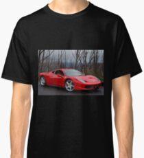 Red & Sleek Classic T-Shirt
