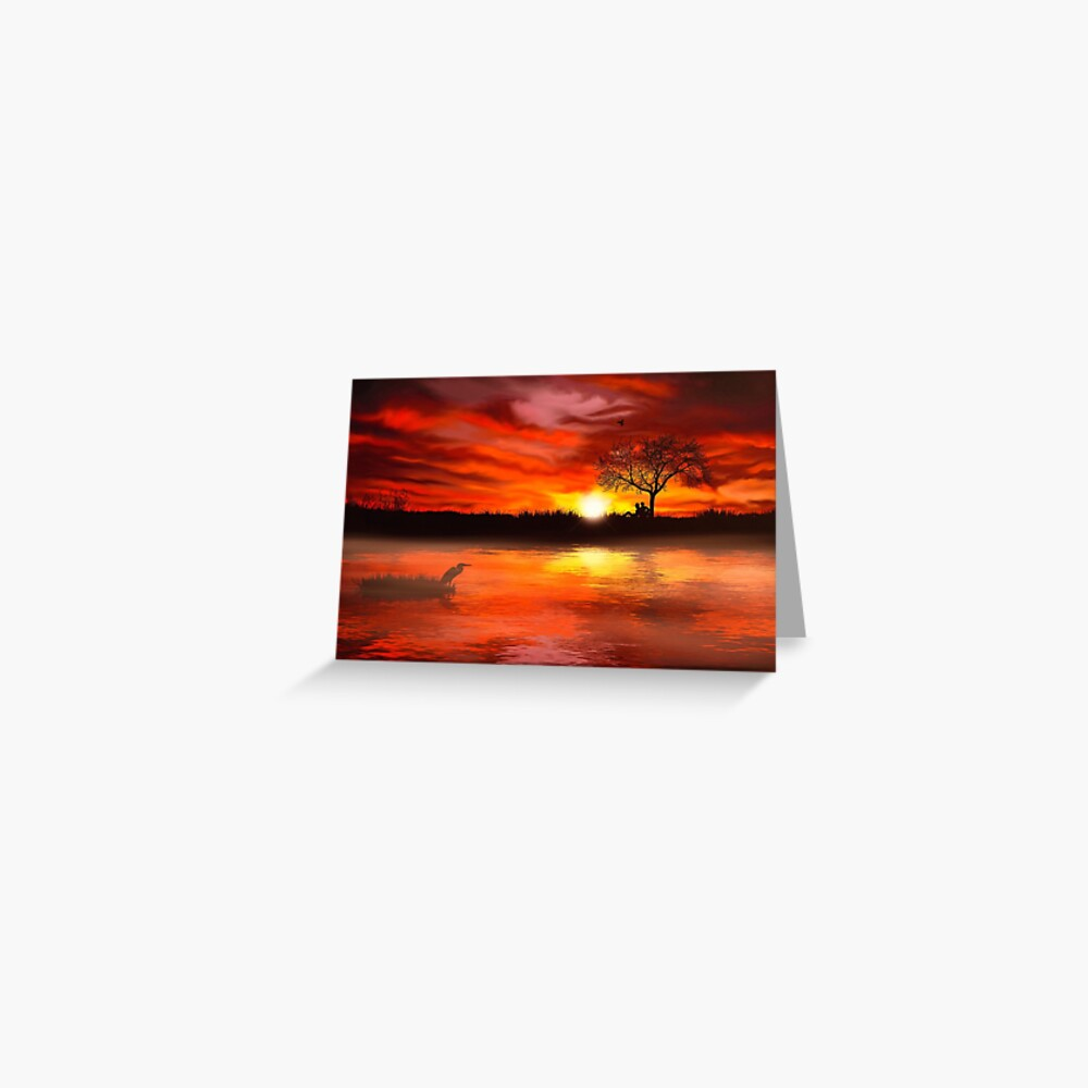Time to Contemplate (Card) Greeting Card