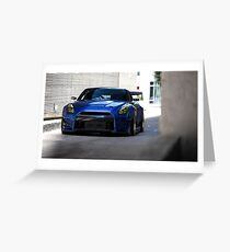 OverBunny R35 GTR Greeting Card