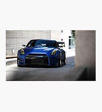 OverBunny R35 GTR Photographic Print