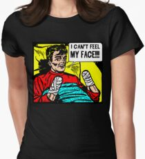 Can't Feel My Face Women's Fitted T-Shirt