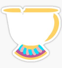 Chipped Tea Cup Sticker