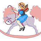 Rocking Horse Girl by redqueenself
