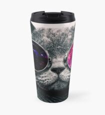 Galaxy Katze Thermosbecher
