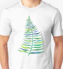 Palm Leaf – Green Palette Unisex T-Shirt