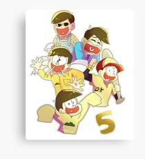 5 Jyuushimatsu Canvas Print