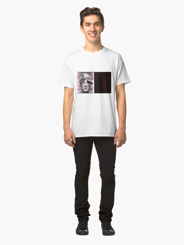 Alternate view of Geoffrey Rush. Poster Classic T-Shirt