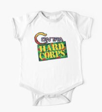 Contra Hard Corps (Genesis) title Screen Kids Clothes