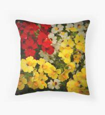 Floral Love Throw Pillow