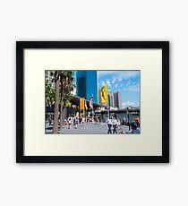 Circular Quay Sydney Australia Framed Print