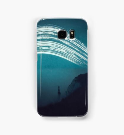 3 month exposure at Beachy head lighthouse UK Samsung Galaxy Case/Skin