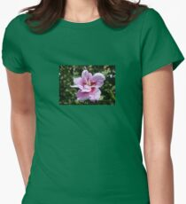Double Headed Marsh Mallow Althaea Officinalis Womens Fitted T-Shirt