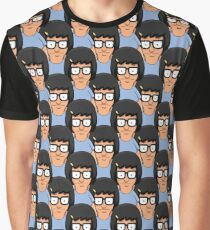 Tina Belcher Pattern Graphic T-Shirt