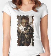 Dorian Tarot Card 1 Women's Fitted Scoop T-Shirt