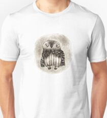 Little Owl Sitting In a Hollow Unisex T-Shirt