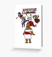 Adventure Island Greeting Card