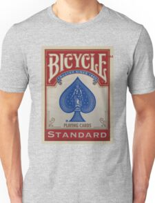Bicycle Playing Cards - Standard Unisex T-Shirt