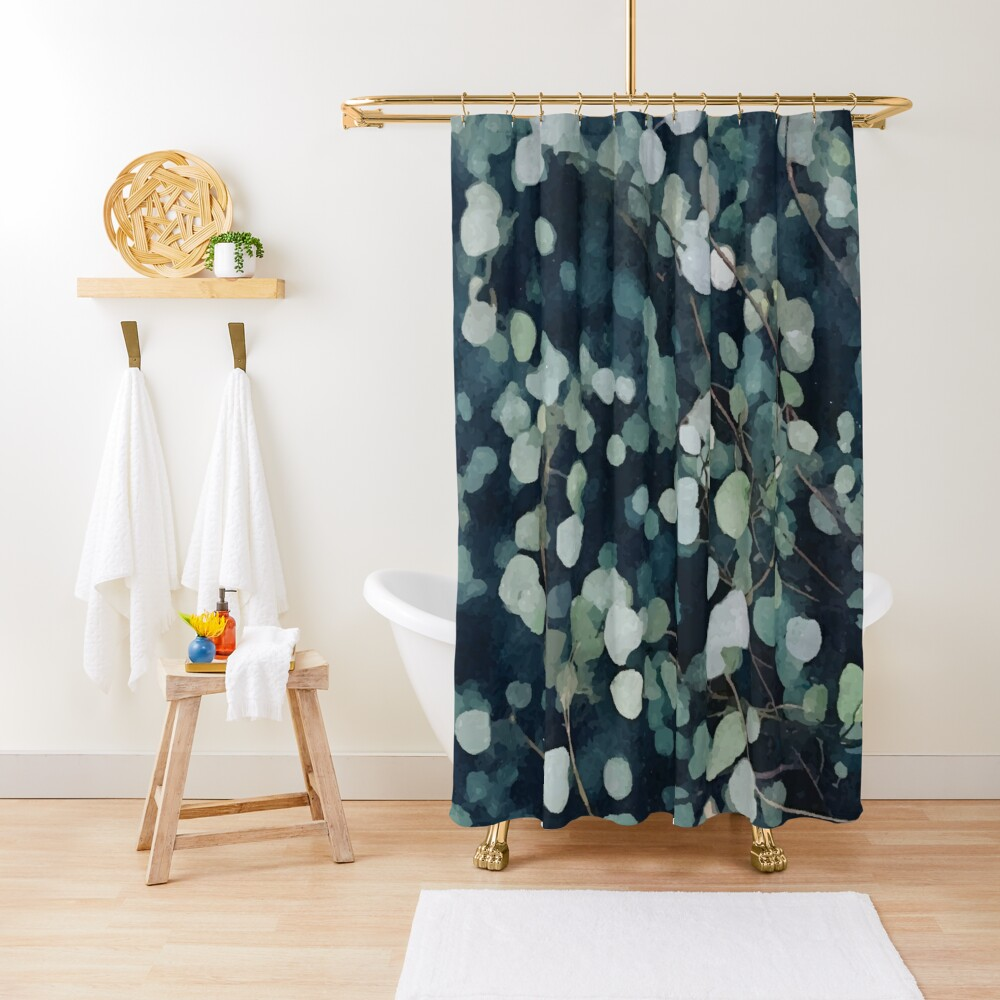 *A Fresh Start* #redbubble Shower Curtain