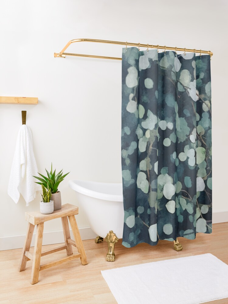 Alternate view of *A Fresh Start* #redbubble Shower Curtain