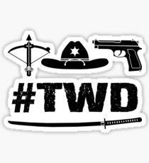 The Walking Dead - TWD Sticker