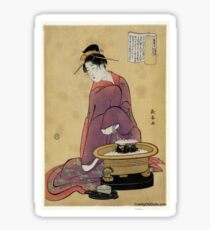 Brazier - Choki Eishosai - 1794 Sticker