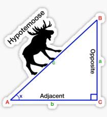 Hypotemoose, Math Humor. Sticker