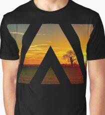 Under a Sunset Sky Graphic T-Shirt