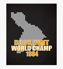 Duck Hunt Gaming Quote Photographic Print