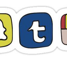 Social Media Sticker