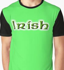 Irish, Ireland, Eire, Emerald Isle, St Patricks Day, On Emarald Green Graphic T-Shirt