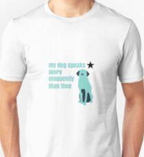 Hamilton Farmer Refuted Dog Quote T-Shirt