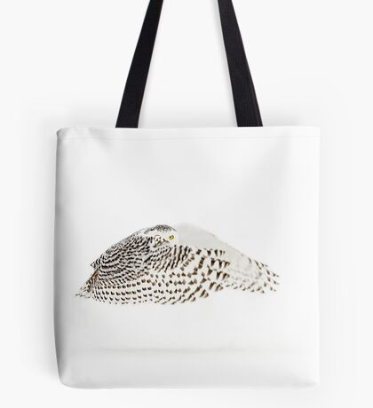 The Count - Snowy Owl Tote Bag