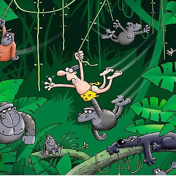 Jungle Swing by RichSkipworth