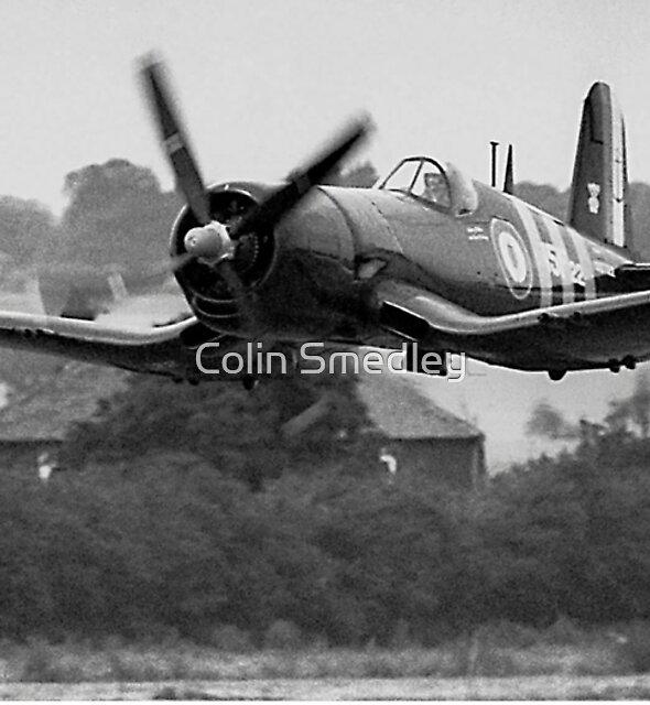 F4U-7 Corsair NX1337A lowdown and shifting by Colin Smedley