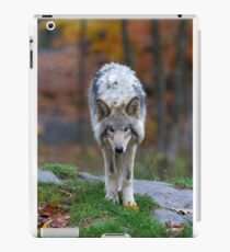 Timber Wolf iPad Case/Skin