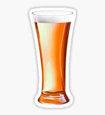 Glass Beer Sticker