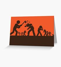 Zombie - Survival Greeting Card