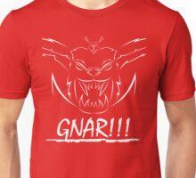 GNAR!!! (white) Unisex T-Shirt