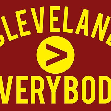 Cleveland > Everybody - Wine & Gold - Go Cavs! by geekingoutfitte