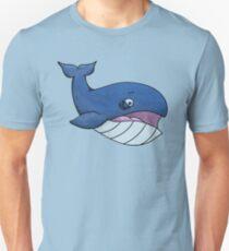 Worried Whale Unisex T-Shirt