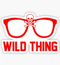 Wild Thing - For The Major League Indians Fan! Sticker