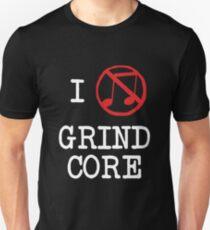 I Love Grindcore Unisex T-Shirt