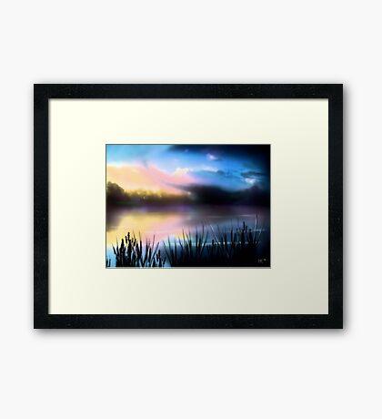 """Lake Twister"" Framed Print"