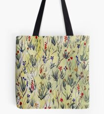 Fantasy field with petals Tote Bag
