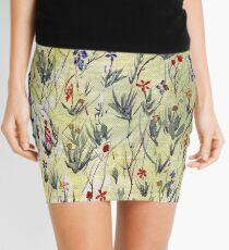 Fantasy field with petals Mini Skirt